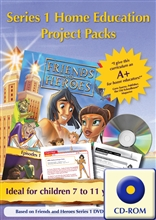 Home Education Project Packs 1-13 CD