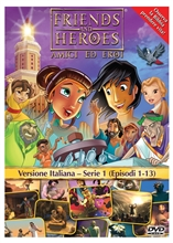Friends and Heroes DVD Series 1 Pack Italian