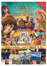 Friends and Heroes DVD Series 2 Pack Italian