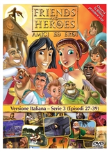 Friends and Heroes DVD Series 3 Pack Italian