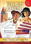 Friends and Heroes Series 1 Licence and Lessons Pack