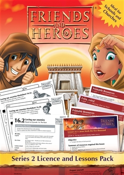 Friends and Heroes Series 2 Licence and Lessons Pack