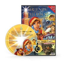Friends and Heroes Episodes 8-9 DVD 10 languages
