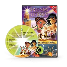 Friends and Heroes Episodes 12-13 DVD 10 languages