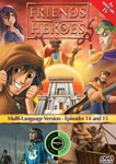 Friends and Heroes Episodes 14-15 DVD 10 languages