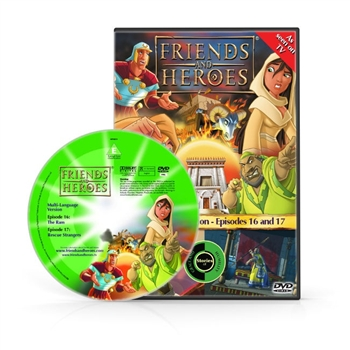 Friends and Heroes Episodes 16-17 DVD 10 languages