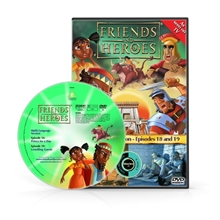Friends and Heroes Episodes 18-19 DVD 10 languages