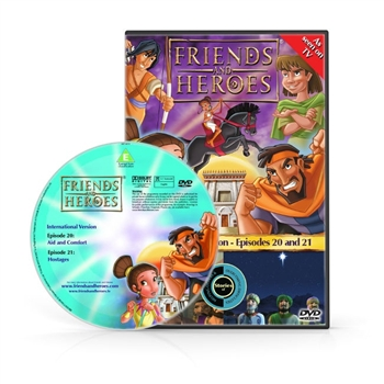 Friends and Heroes Episodes 20-21 DVD 10 languages