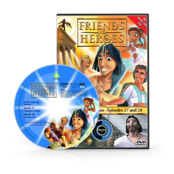 Friends and Heroes Episodes 27-28 DVD 10 languages