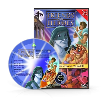 Friends and Heroes Episodes 29-30 DVD 10 languages