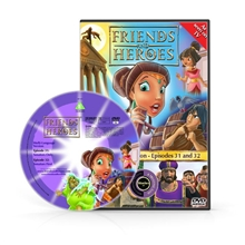 Friends and Heroes Episodes 31-32 DVD 10 languages
