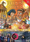 Friends and Heroes Episodes 37-39 DVD 10 languages