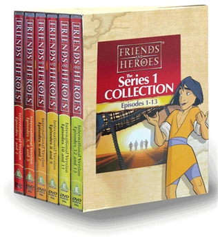 Friends and Heroes DVD Series 1 Pack Multi-Language