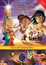 Puzzle Book 1 - Friends and Heroes - Series 1 - pack of 10