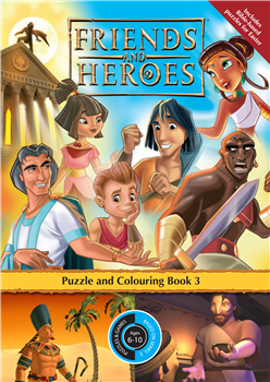 Puzzle Book 3 - Friends and Heroes