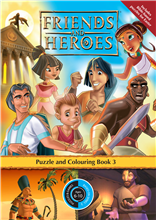 Puzzle Book 3 - Friends and Heroes - Series 3 - pack of 10