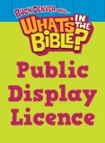 What's in the Bible? - Single Display Licence 1-500 attending