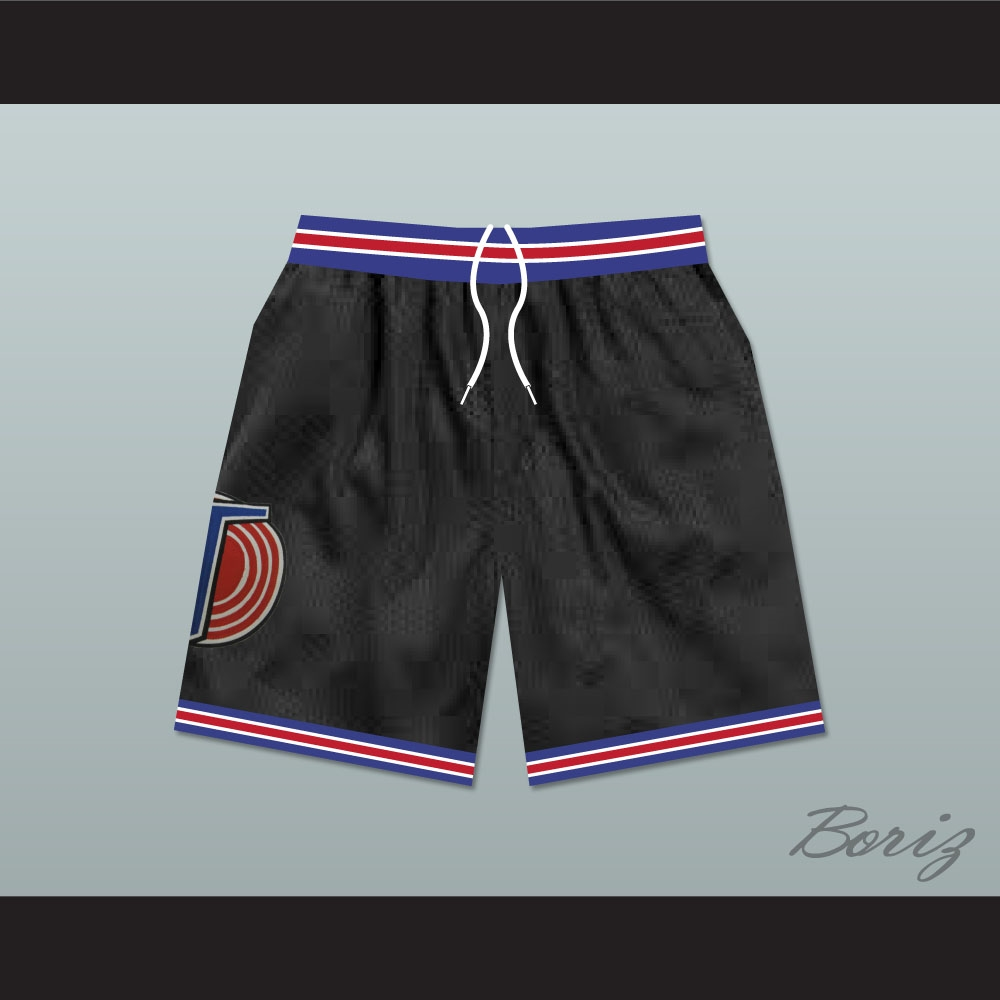 aa3e0da9e2a Michael Jordan Space Jam Tune Squad Shorts Black