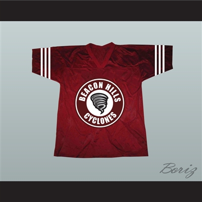 Derek Hale 00 Beacon Hills Cyclones Lacrosse Jersey Teen Wolf TV Series