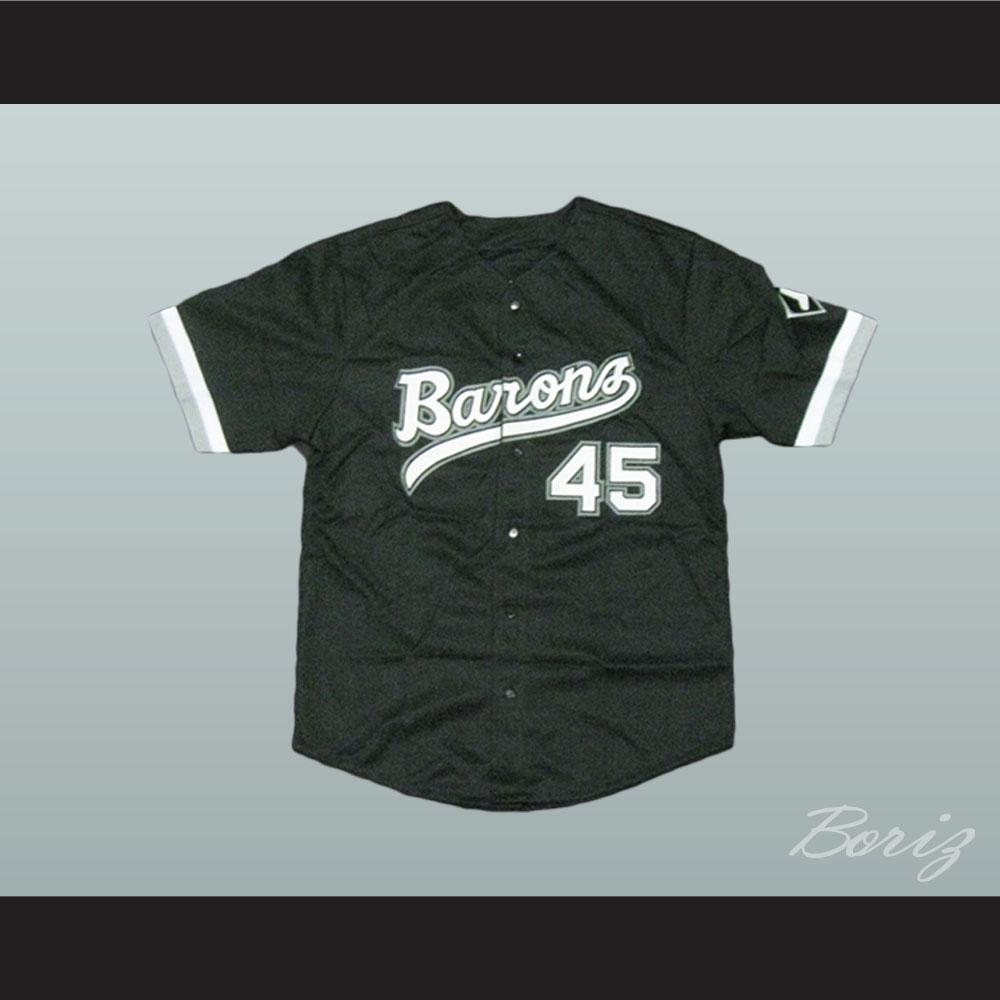 Michael Jordan Rookie 45 Barons Baseball Jersey d30751a2a
