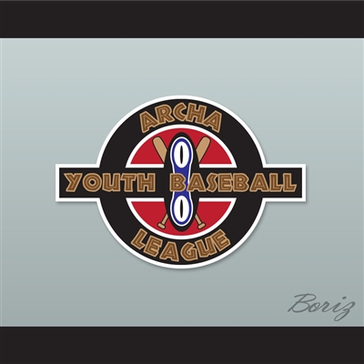Set of 5 ARCHA Youth Baseball League Patches Harball Kekambas