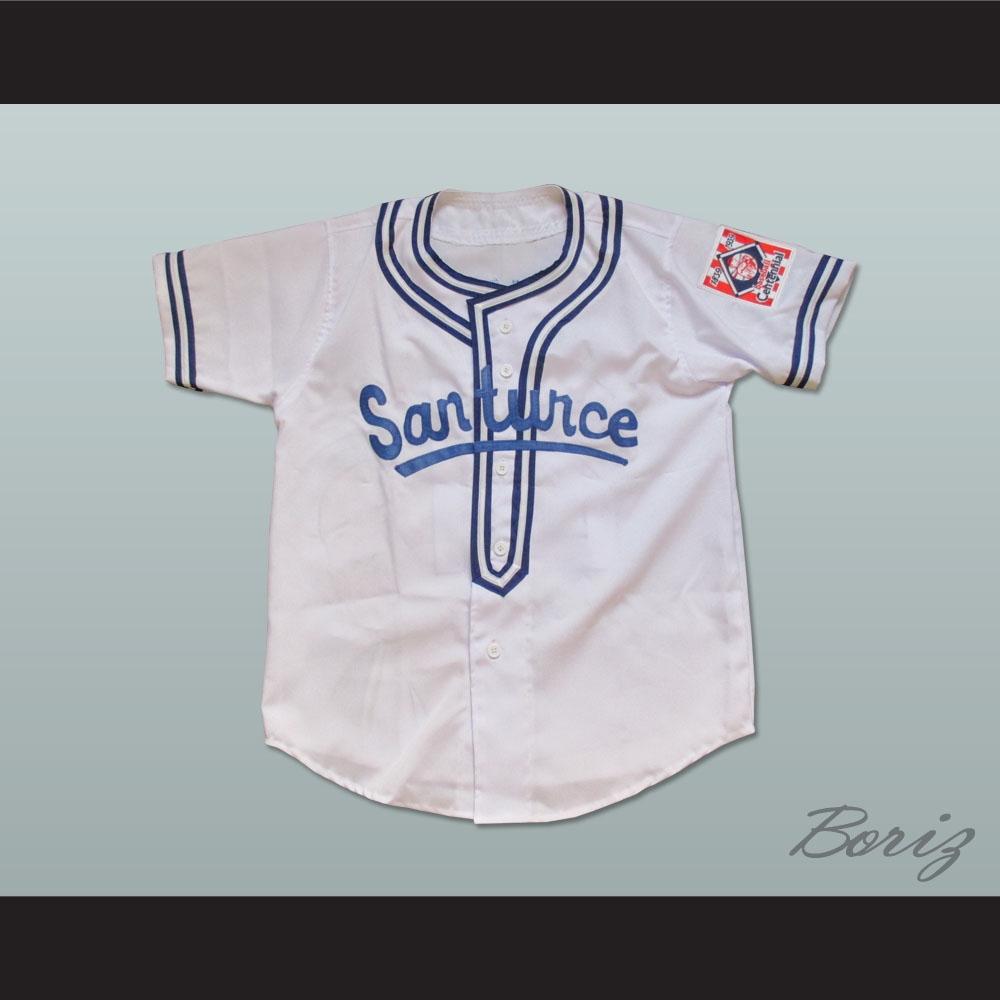 competitive price b861c b74ec Roberto Clemente 21 Cangrejeros de Santurce Airbrush Portrait Baseball  Jersey