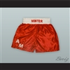 Alan Minter Red Boxing Shorts