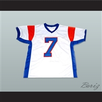 Alex Moran 7 Blue Mountain State Goats Football Jersey