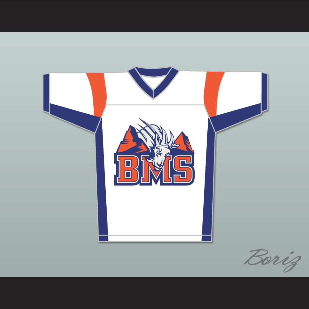 Alex Moran 7 Blue Mountain State Goats Football Jersey dd232e800bc3