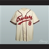 1957 Replica Atlanta Crackers Button-Down Baseball Jersey New