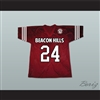 Stiles Stilinski 24 Beacon Hills Cyclones Lacrosse Jersey Teen Wolf Includes Patch