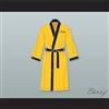 Rocky Balboa Italian Stallion Yellow Satin Full Boxing Robe
