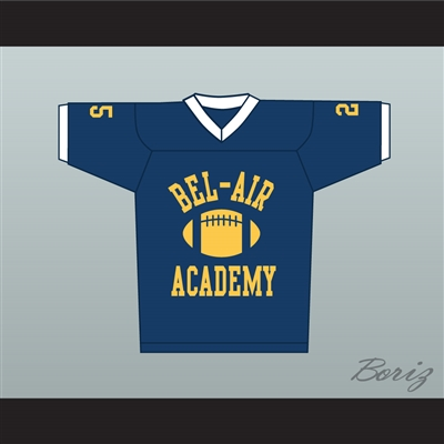 Fresh Prince Carlton Banks Bel-Air Academy Football Jersey