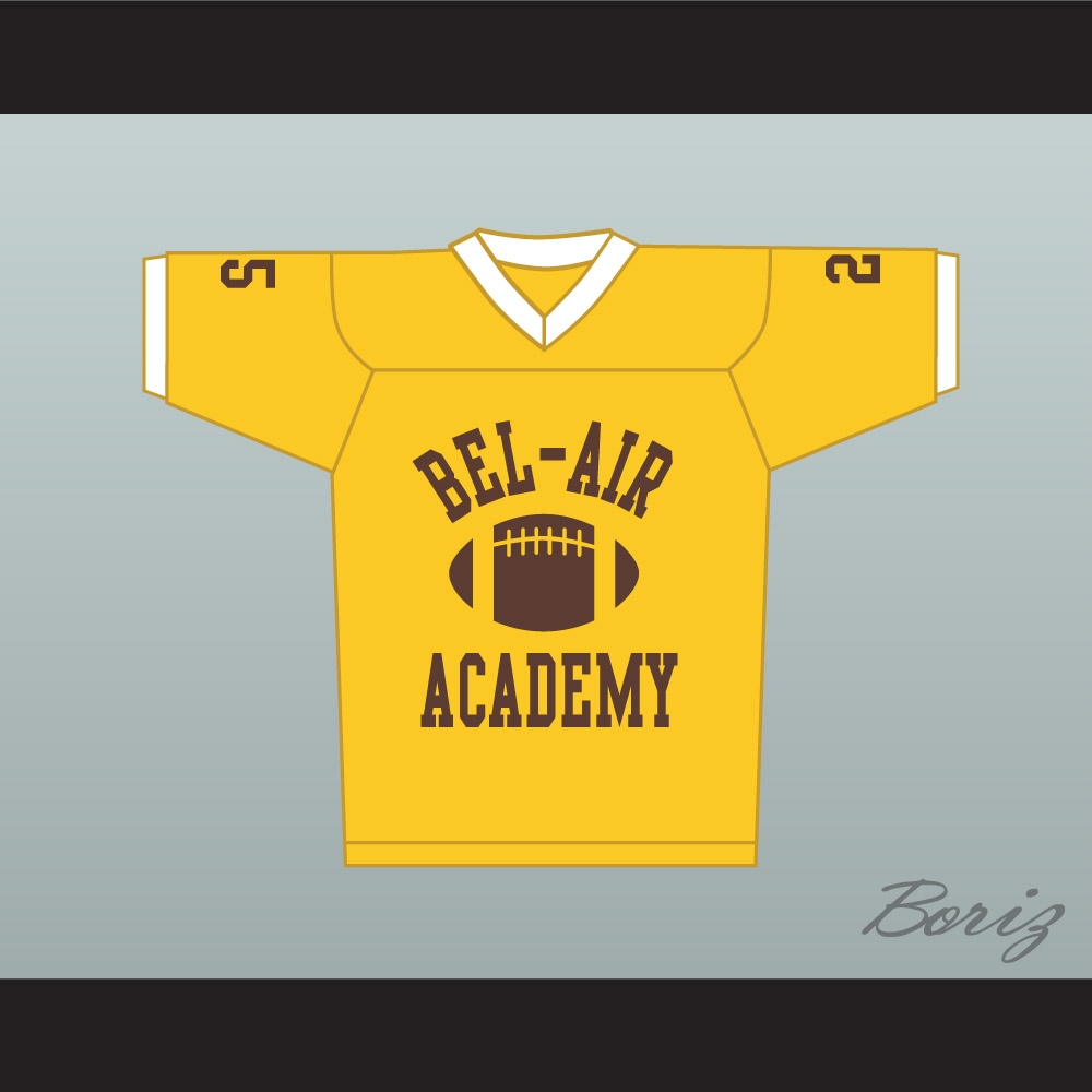 47fbf217abe8 Fresh Prince Carlton Banks Bel-Air Academy Football Jersey