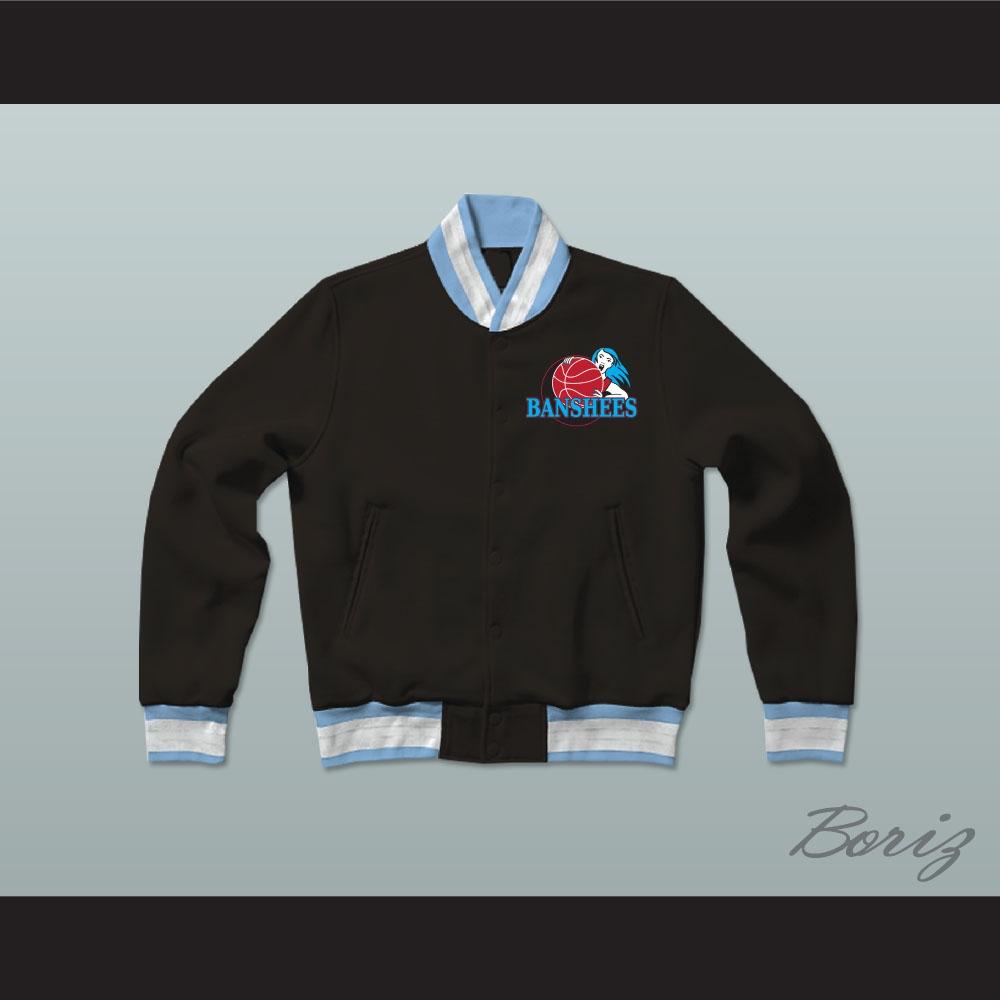 wholesale dealer 51f08 7bee0 Juwanna Mann Charlotte Banshees Varsity Letterman Jacket-Style Sweatshirt