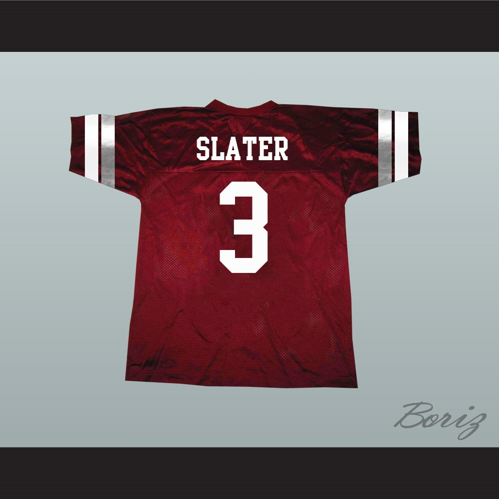 Saved By The Bell AC Slater 3 Bayside Tigers Football Jersey 04502a9b779e