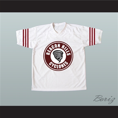 Isaac Lahey 14 Beacon Hills Cyclones Lacrosse Jersey Teen Wolf TV Series