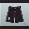Juwanna Mann Charlotte Beat Home Basketball Shorts with UBA Patch