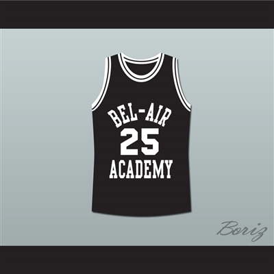 The Fresh Prince of Bel-Air Alfonso Ribeiro Carlton Banks Bel-Air Academy Basketball Jersey