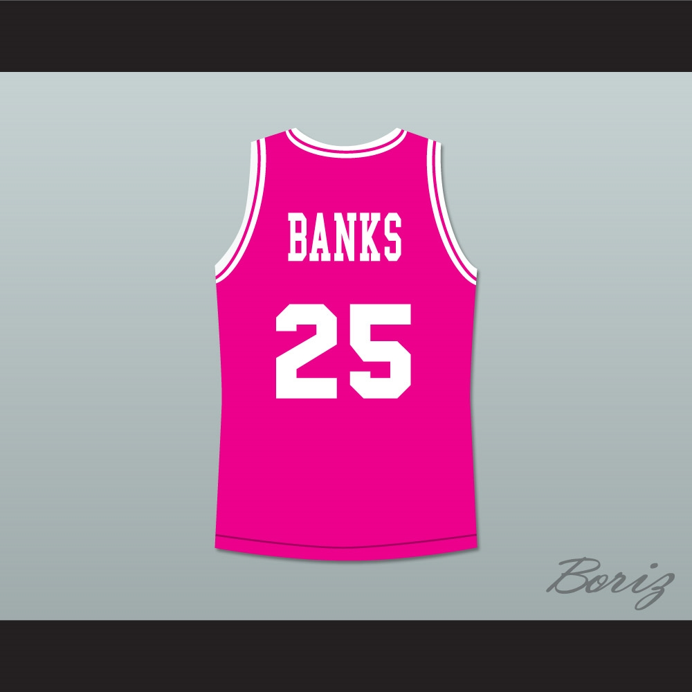 4ba3af6aa86b The Fresh Prince of Bel-Air Alfonso Ribeiro Carlton Banks Bel-Air Academy  Basketball Jersey
