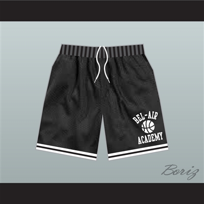 Fresh Prince Bel-Air Academy Basketball Shorts Black
