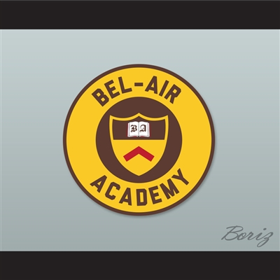 Set of 5 Bell-Air Academy Patches The Fresh Prince of Bel-Air