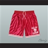 Fresh Prince Bel-Air Academy Basketball Shorts Red