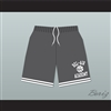 Bel-Air Academy Gray Basketball Shorts