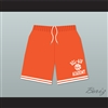 Bel-Air Academy Orange Basketball Shorts