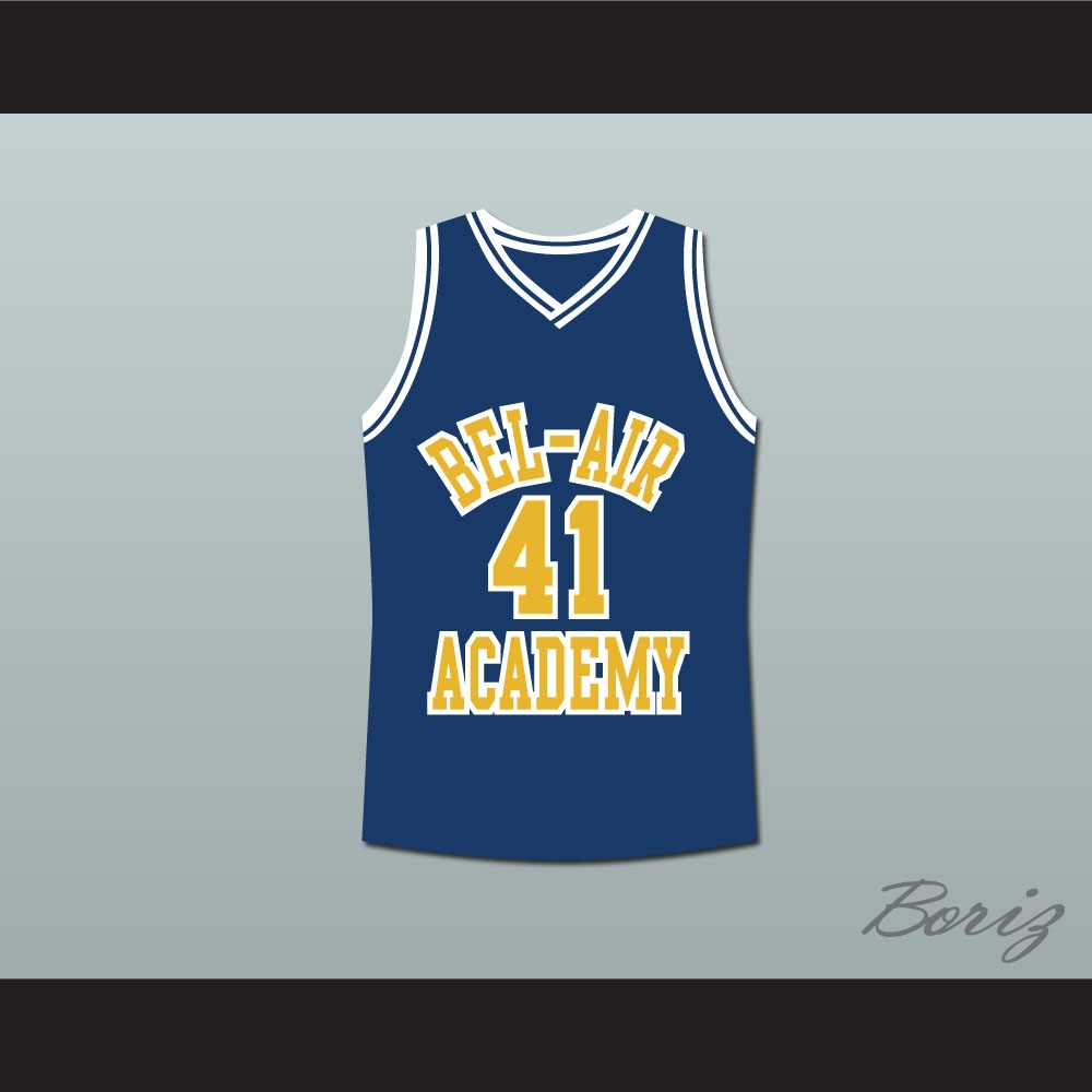 The Fresh Prince of Bel-Air Will Smith Bel-Air Academy Basketball ... 7c5109e4bfaa