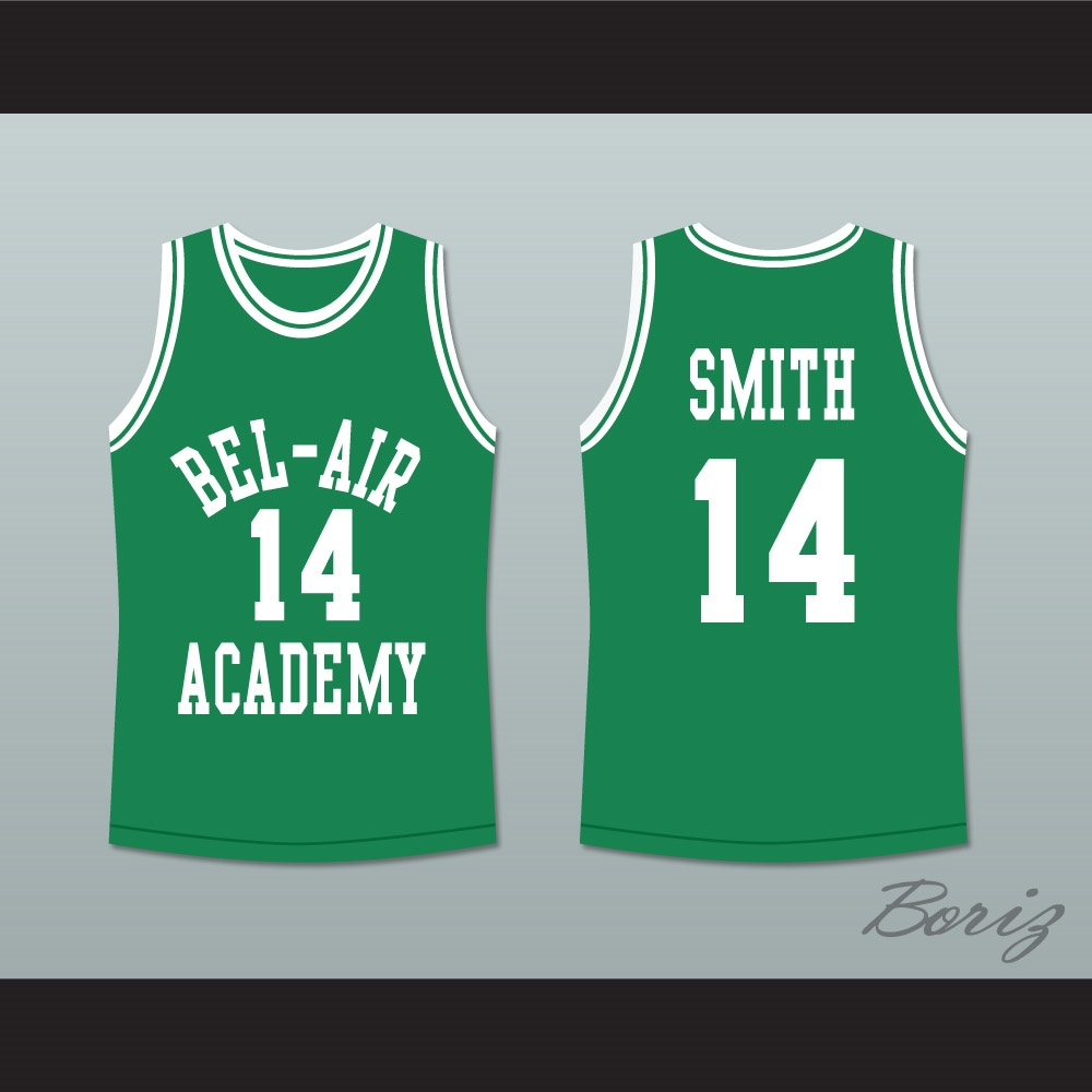 The Fresh Prince of Bel-Air Will Smith Bel-Air Academy Basketball Jersey 075da9271