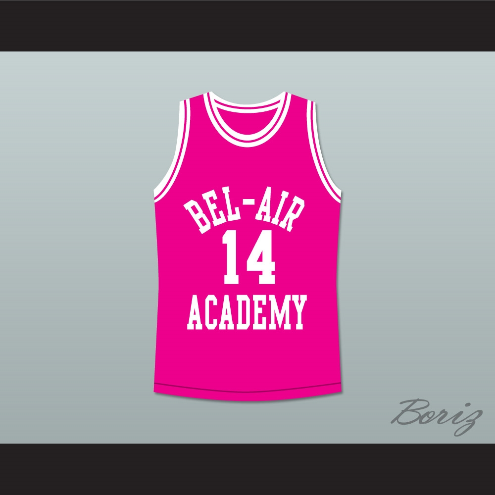 The Fresh Prince of Bel-Air Will Smith Bel-Air Academy Basketball ... fb980a611