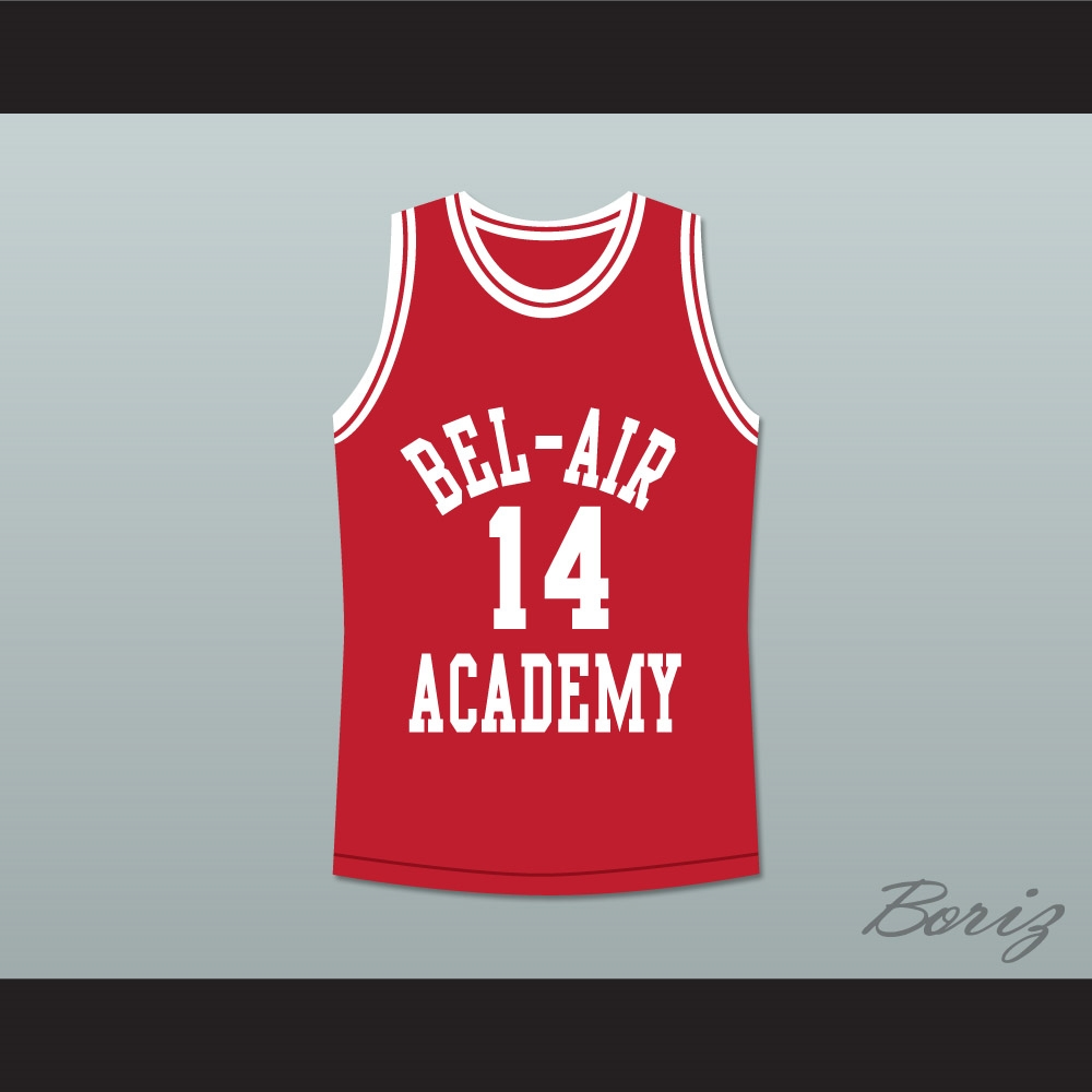 The Fresh Prince of Bel-Air Will Smith Bel-Air Academy Basketball ... 19767f9eb