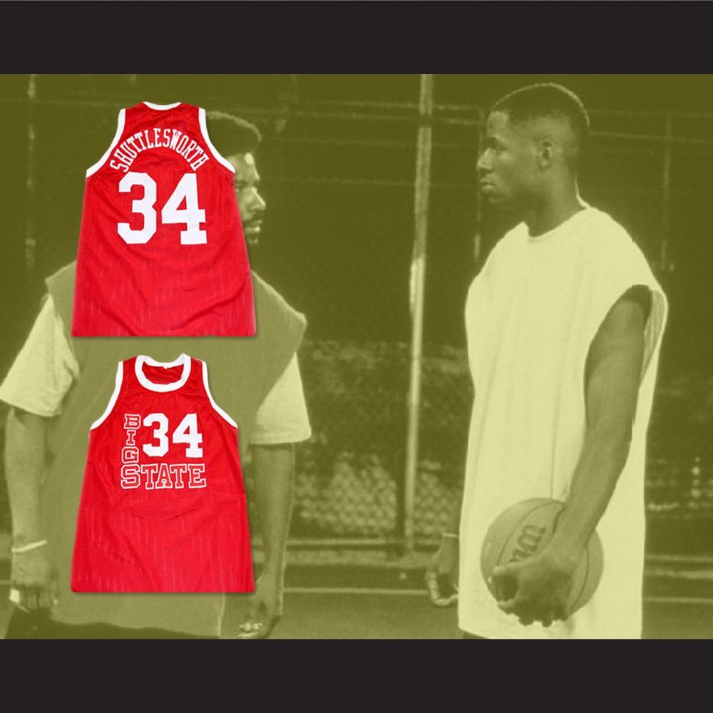 Jesus Shuttlesworth 34 Big State Basketball Jersey He Got Game a7f779903